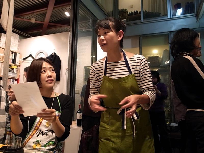 料理家、蓮池陽子氏。