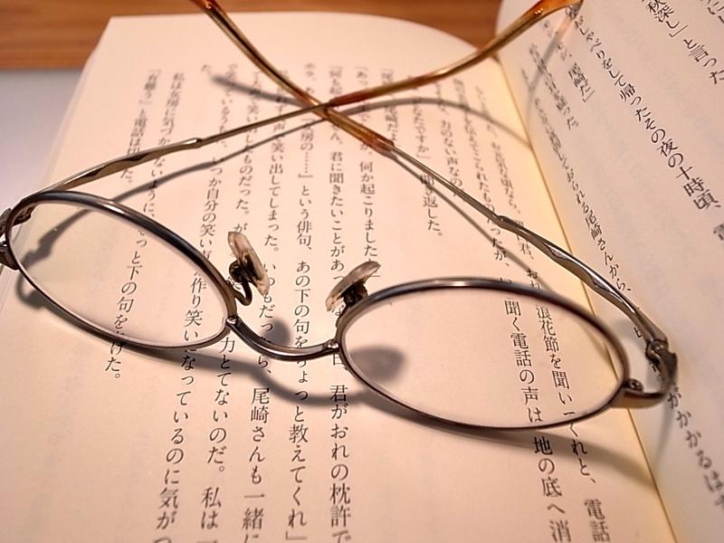 これも眼鏡。