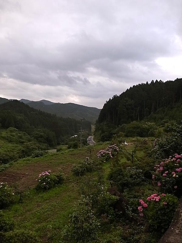山の麓へ。