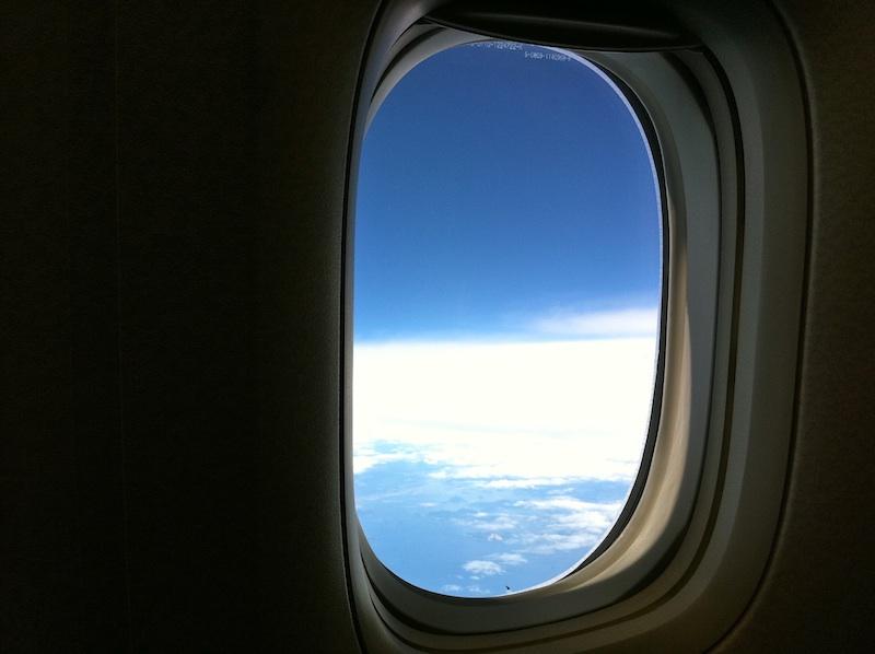 きれいな空。