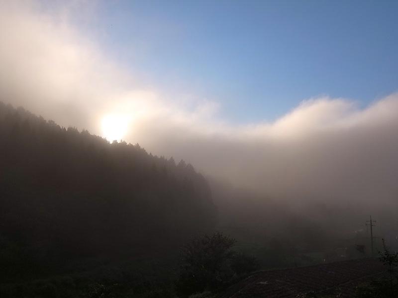 雲か霧か。