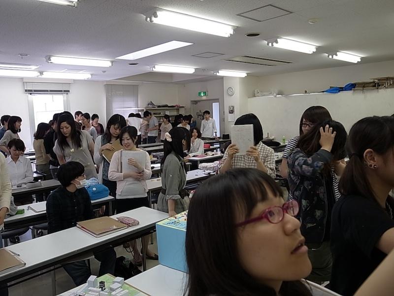 ある日の授業風景。