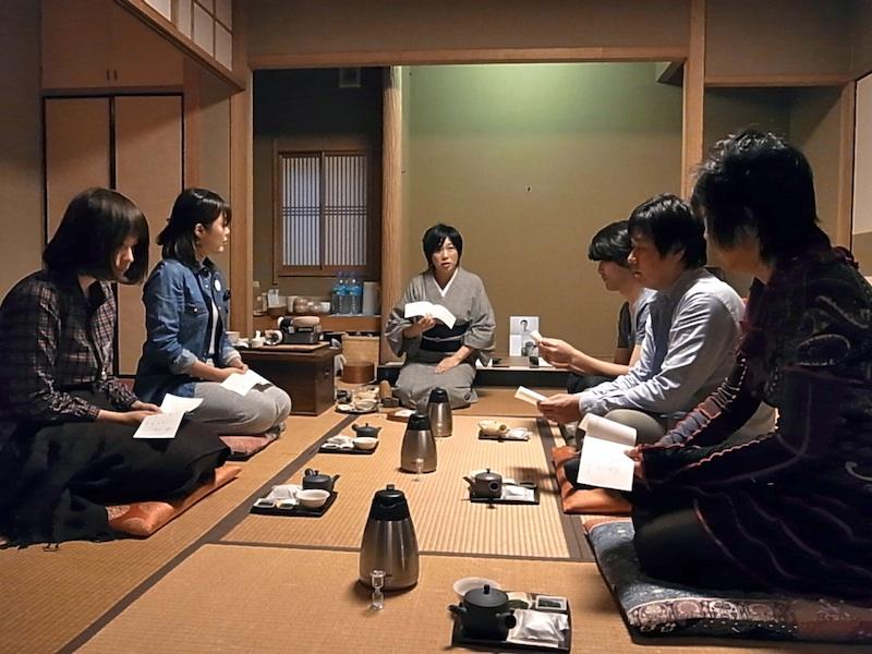 日本茶ワークショップ。