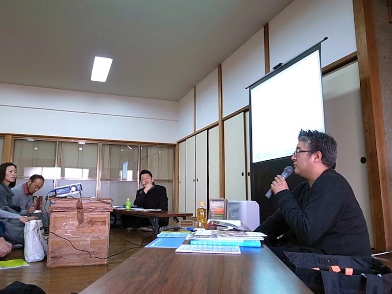 会場は土橋公民館。