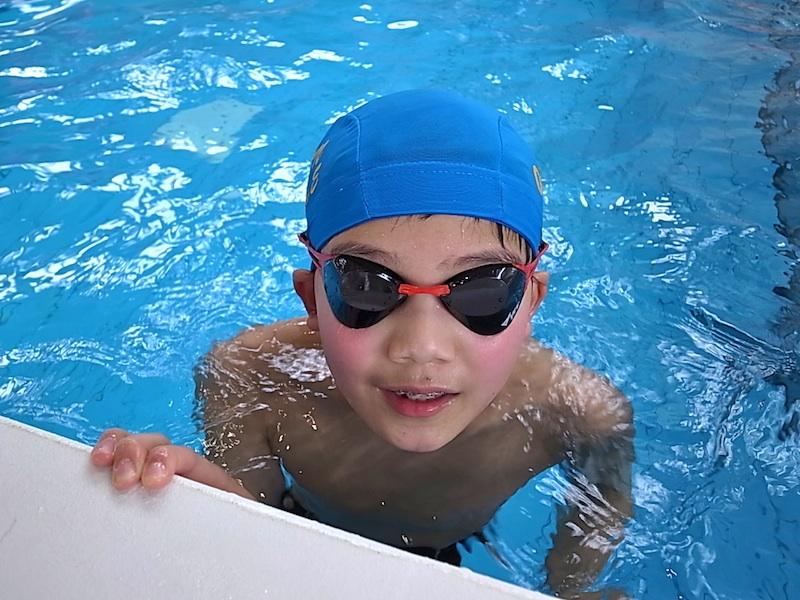 基礎体力は水泳で。
