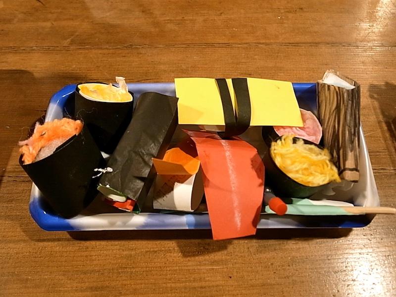 寿司詰め合わせ。