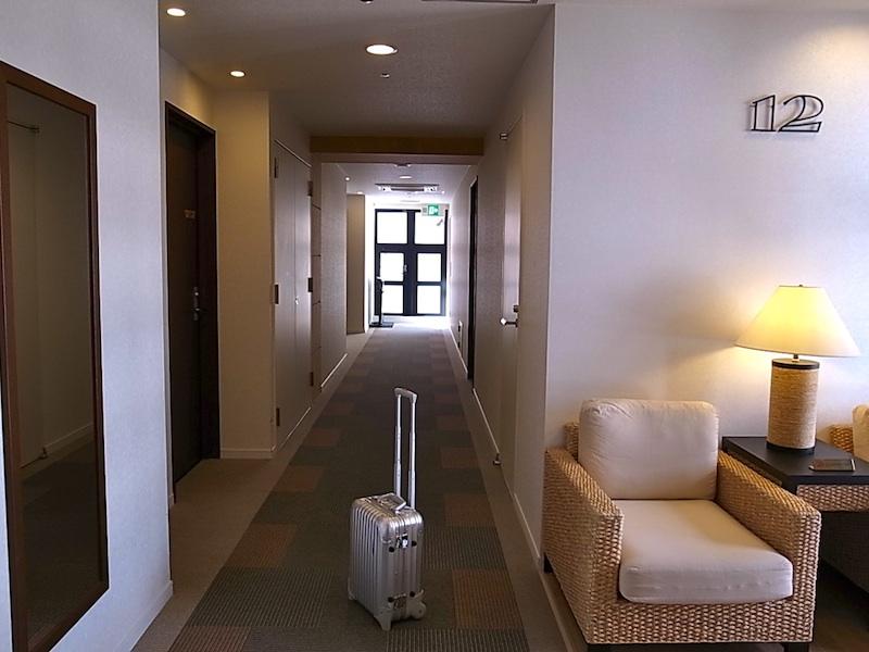 ホテルも多い。