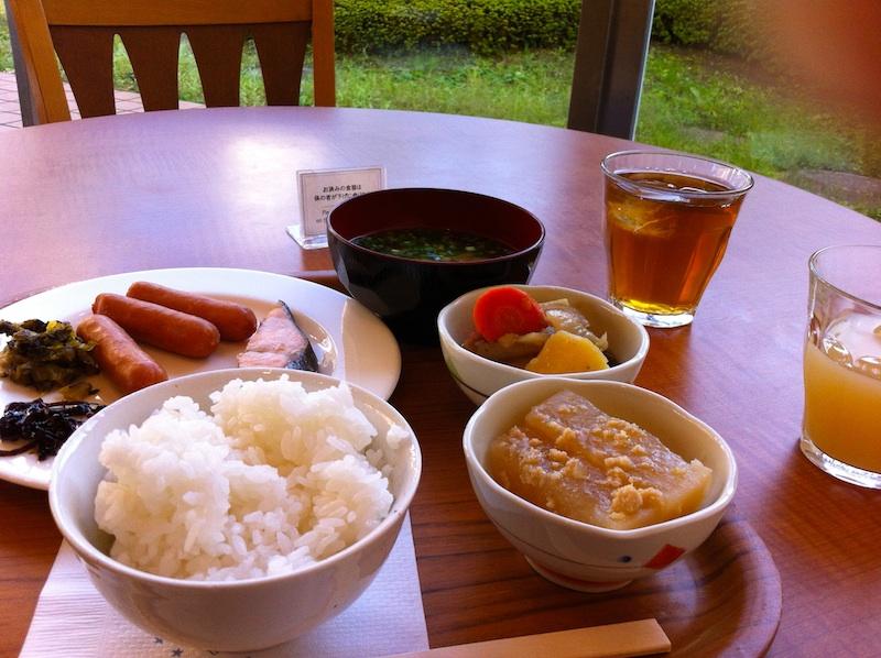 和食を中心に。