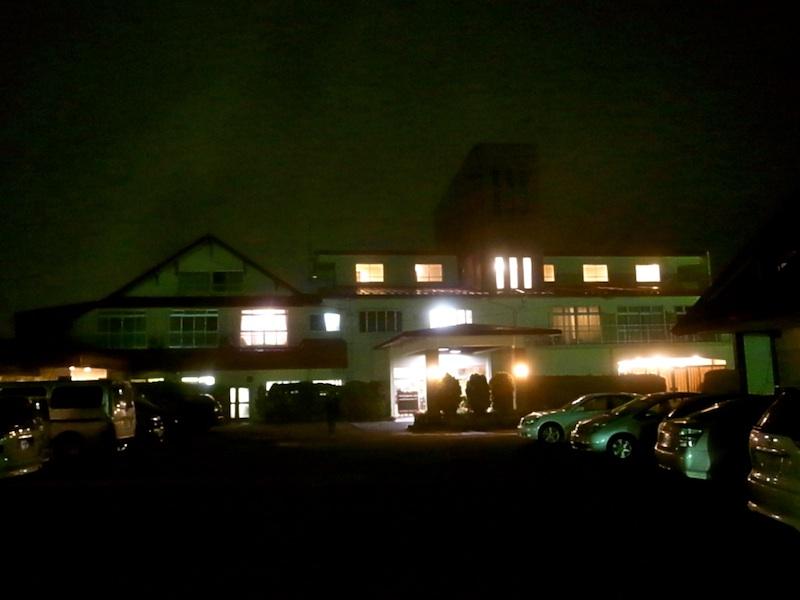 初めてのホテル。