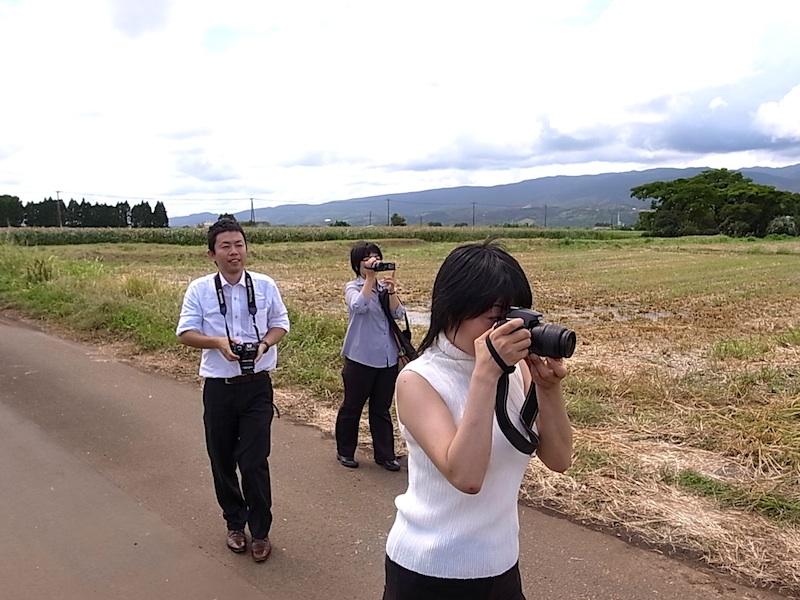 撮る、撮る、撮る。