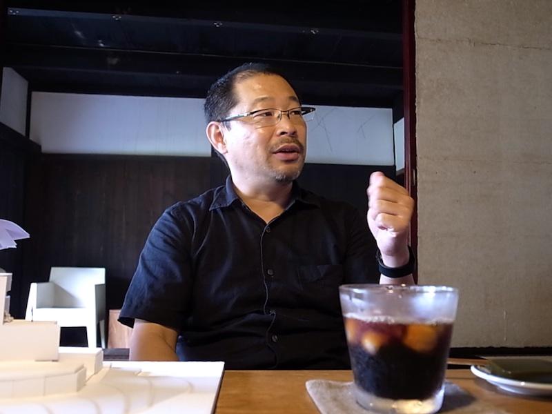 矢作昌生氏。