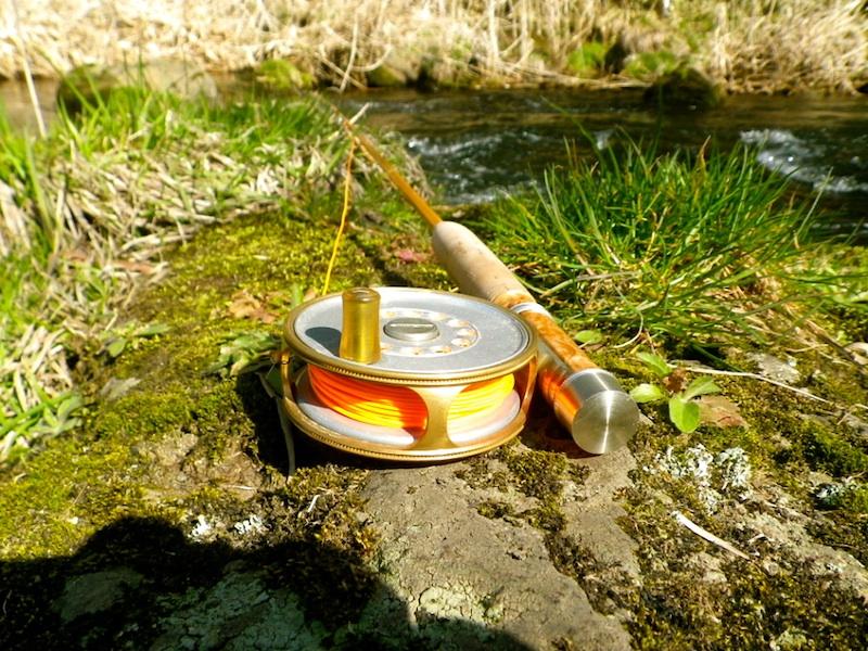 竿はやはり川へ。