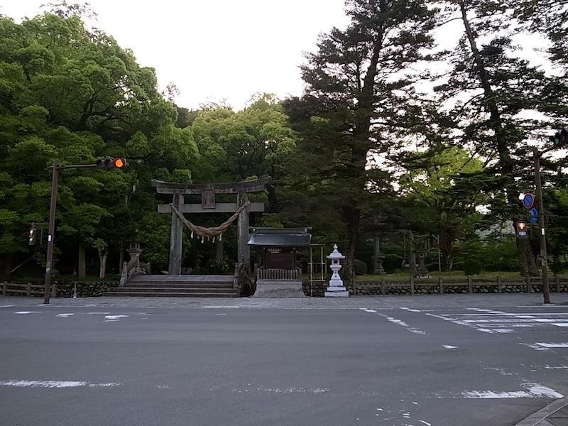 大原神社入り口。