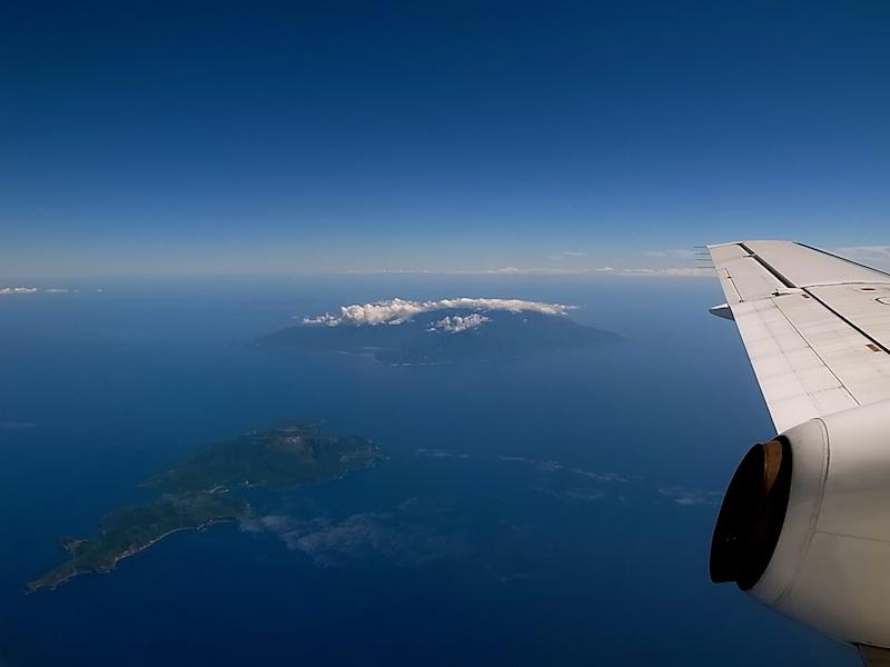 屋久島を越えて。