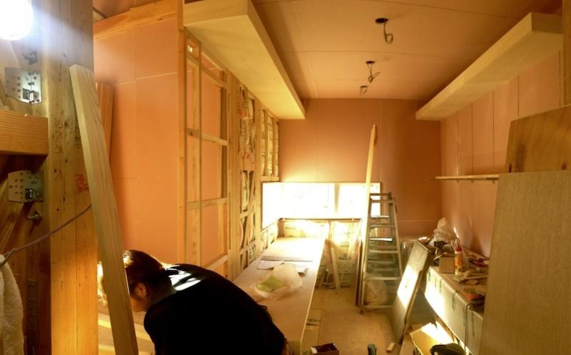 2階の書斎。