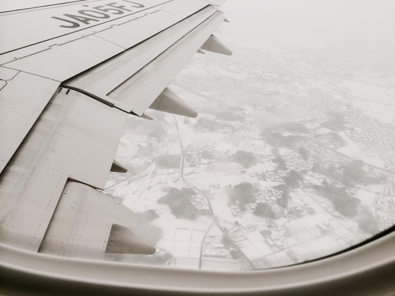 飛騨は雪景色。