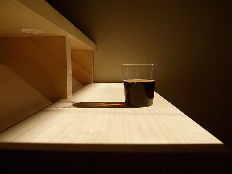 朝のアイスコーヒー。